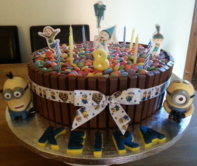 despicable me birthday cake kits