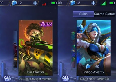 Hilda new skin Mobile Legends