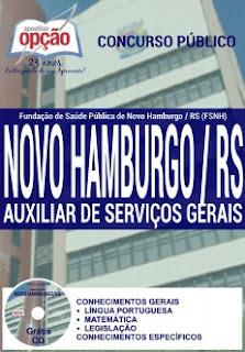 Apostila FSNH Novo Hamburgo