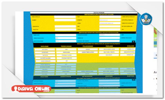 Aplikasi Administrasi Guru Berbasis Excel Terbaru Lengkap