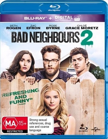 Poster of Neighbors 2 Sorority Rising 2016 BRRip 720p English 850MB ESubs Free Download Worldfree4u.ind.in