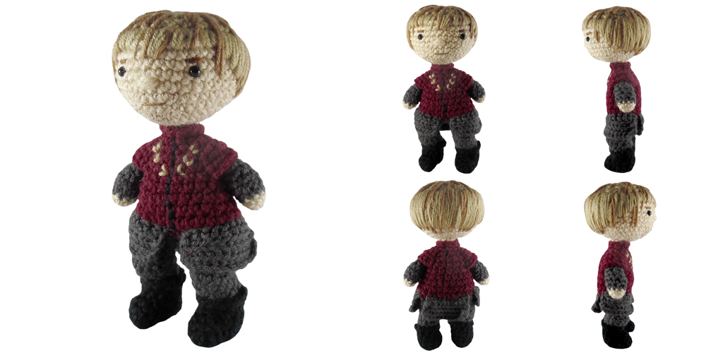 i crochet things: Free Pattern Friday: Tyrion Lannister ...