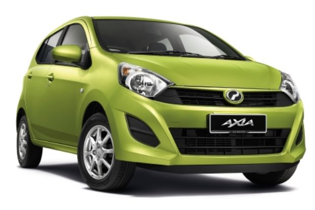 Kereta sewa di Melaka - Perodua AXIA 1.0 A