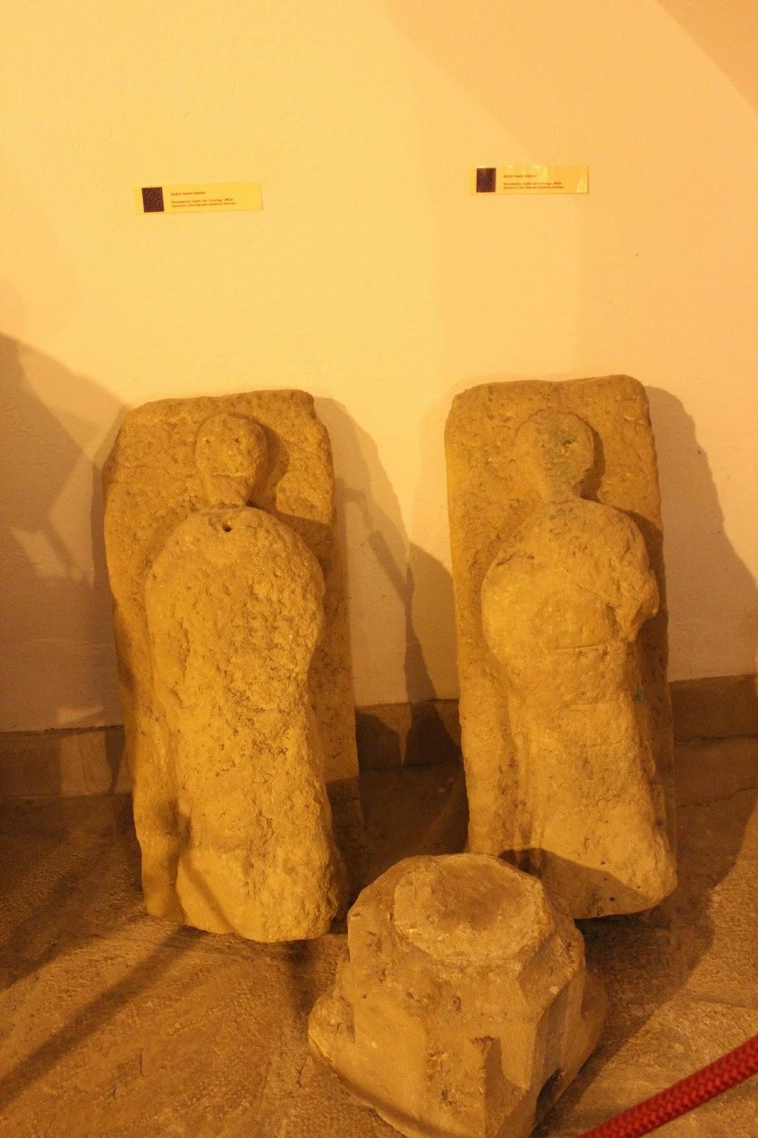 Estelas funerarias en el Museo Arqueológico de Úbeda