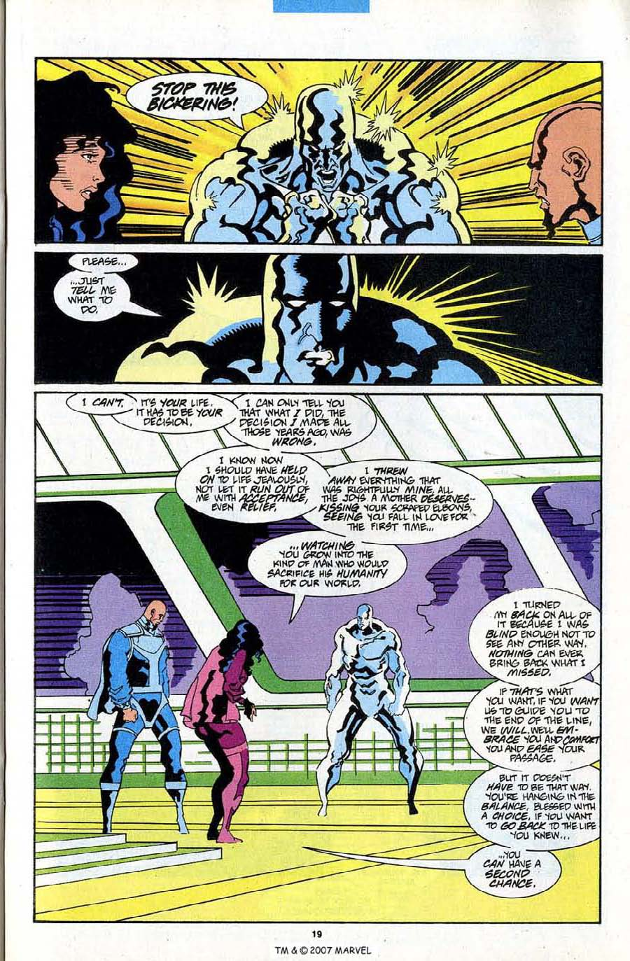 Read online Silver Surfer (1987) comic -  Issue #84 - 21
