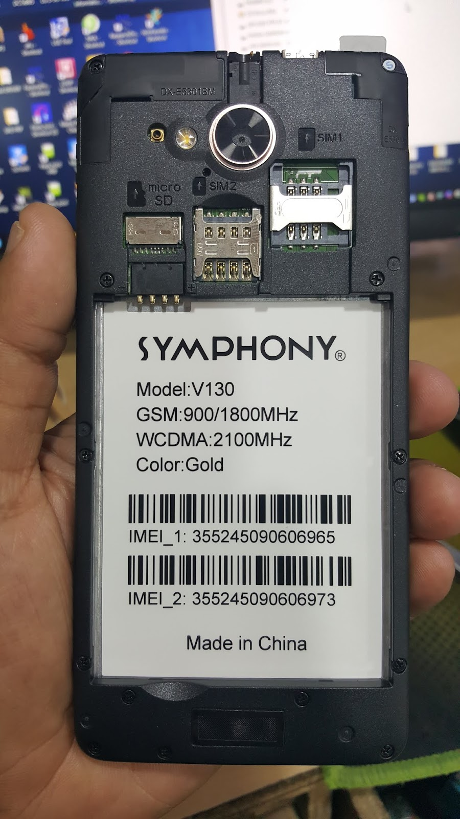 SYMPHONY V130 FLASH FILE SP7731CEA 7 0 NOUGAT SPD PAC