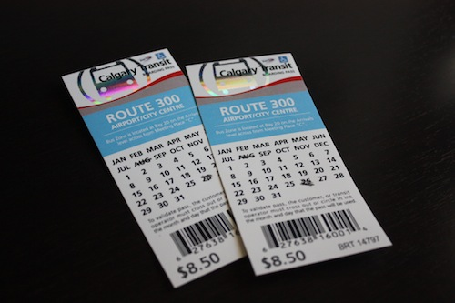 Calgary Transit Route 300 plus Day Pass