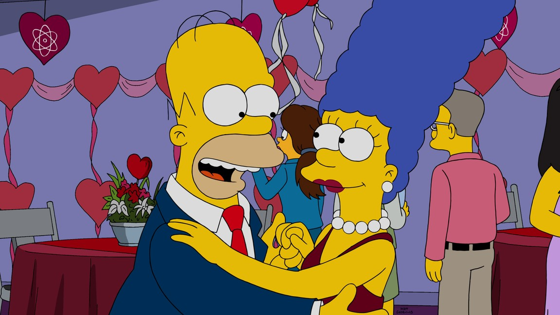 The Simpsons - Season 27 Episode 13: Love Is in the N2-O2-Ar-CO2-Ne-He-CH4
