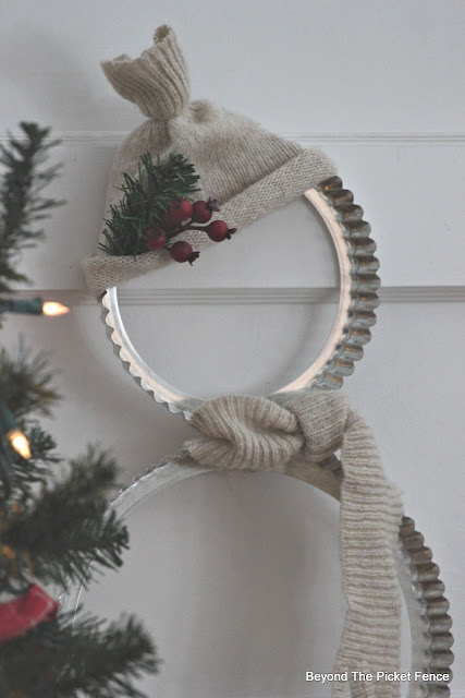 12 Days of Christmas Ideas Day 1 Tart Pan Snowman