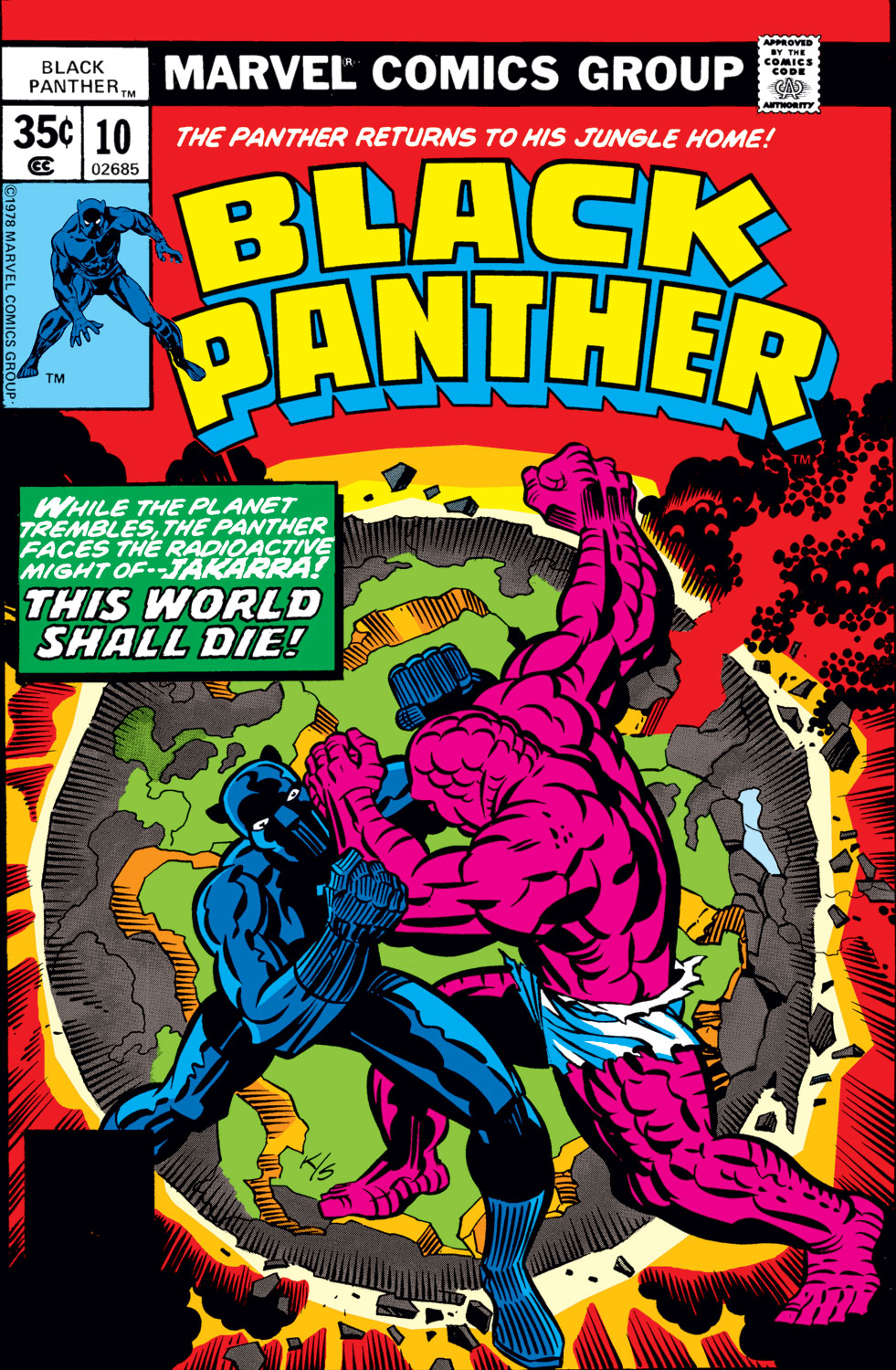 Black Panther (1977) 10 Page 1