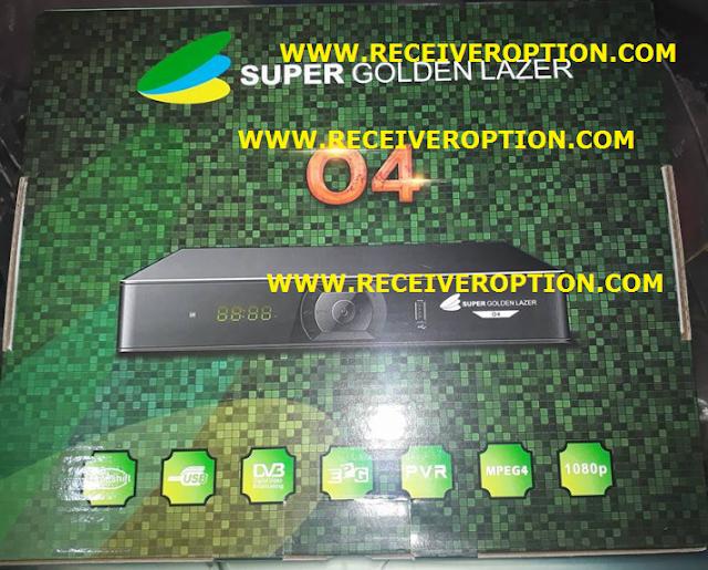 SUPER GOLDEN LAZER O4 HD RECEIVER DUMP FILE