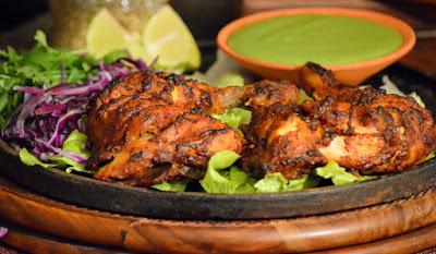Tandoori Chicken ~ Homemade Tandoori Masala Powder