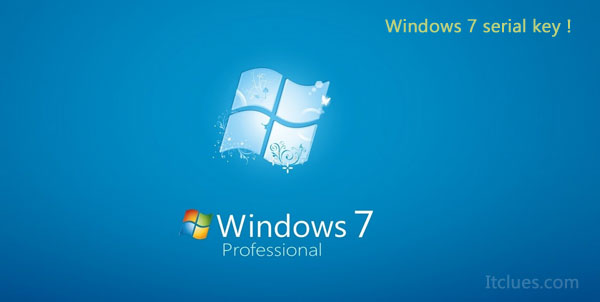 Windows 7 Product Key for Windows 32bit / 64bit Updated 2016 - Itclues
