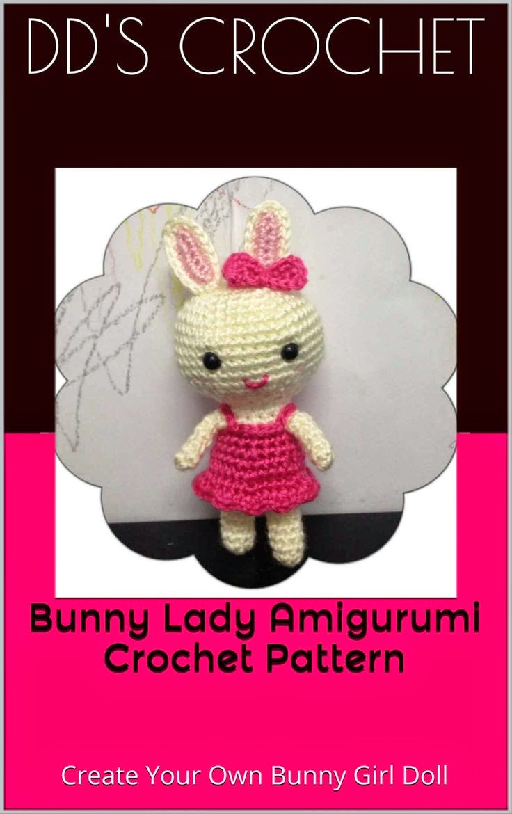 Amazon.com: Bunny Lady Amigurumi Crochet Pattern
