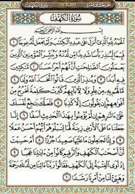 Surah Al-Kahfi Ayat (1-10), Ayat pelindung daripada Fitnah Dajjal