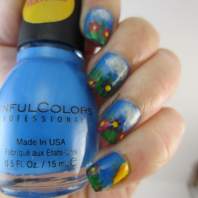 Free-hand-nail-art-manicure