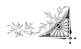 digital corner design birds flowers image decorative clipart download
