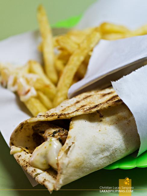 Chawarma Poulet Casablanca Food Trip