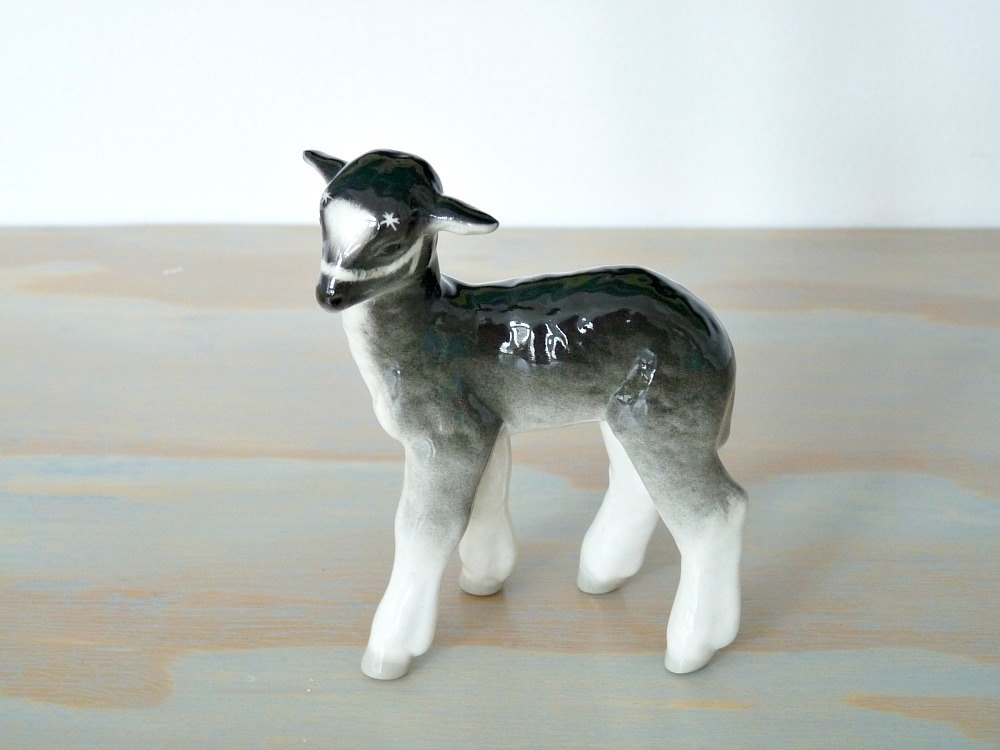 Vintage Goat Figurine // Minden Shop on Etsy