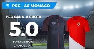 Paston Megacuota Copa de la Liga: PSG vs Monaco 31 marzo