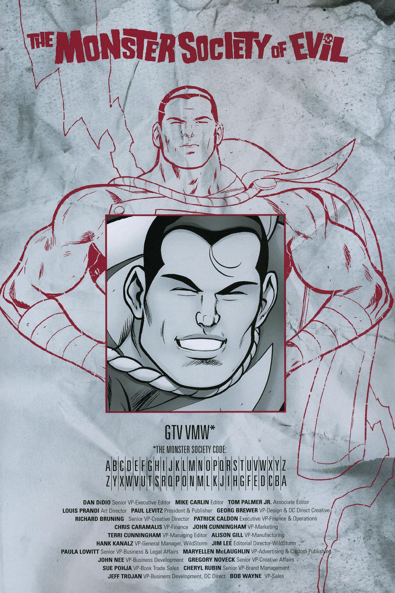 Read online Shazam!: The Monster Society of Evil comic -  Issue #4 - 50