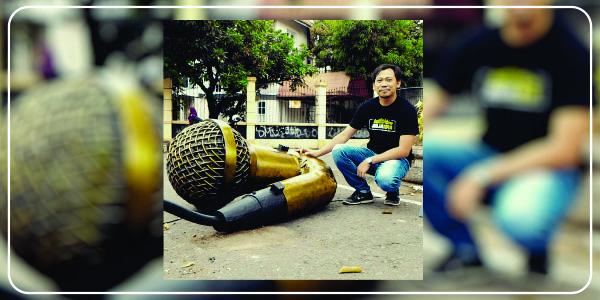 Philips Sambalao and the Sculpture | adipraa.com