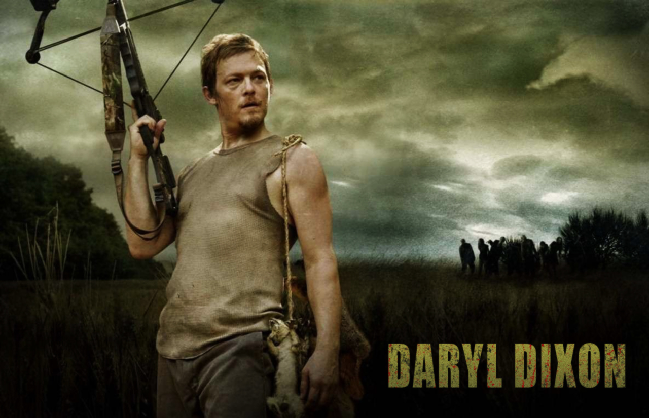 Hd Wallpaper Daryl Dixon The Walking Dead Hd Wallpapers