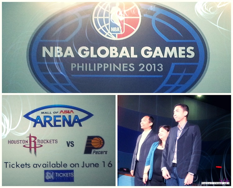 NBA Global Games Philippines: Houston Rockets vs Indiana Pacers on 10.10.13