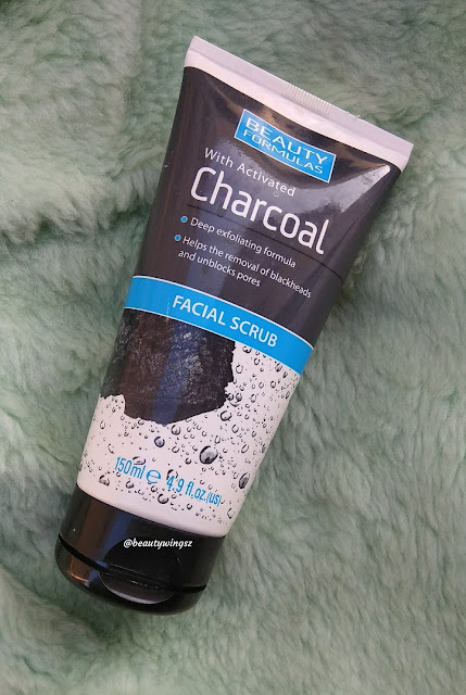 Beauty Formula's Facial Scrub with Activated Charcoal Review