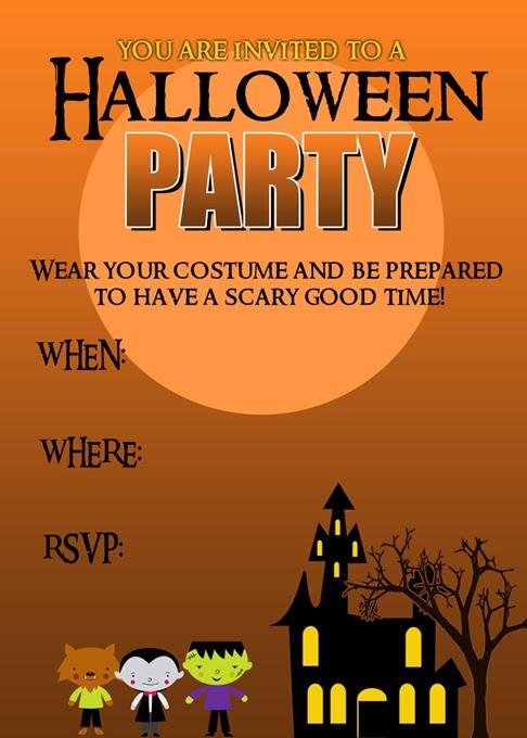 Halloween Party Invitation Free Printable - Pretty Providence