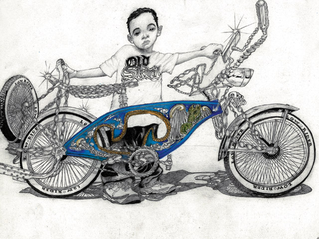 Bmx Bicycles Drawings