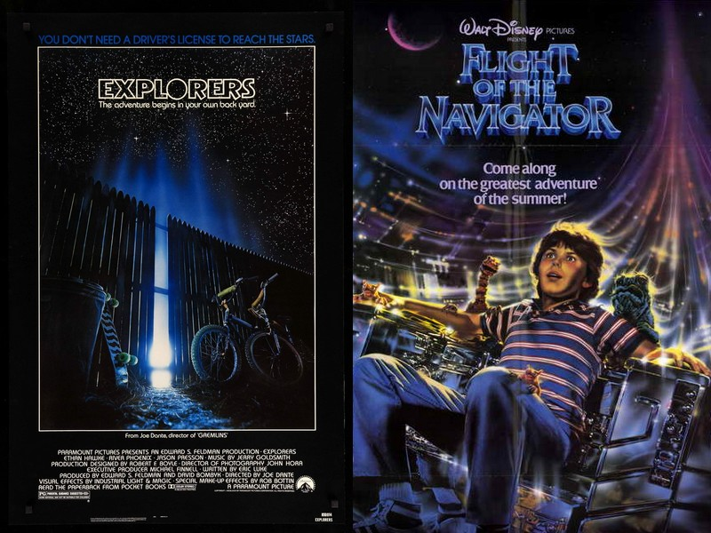 Explorers / Flight of the Navigator