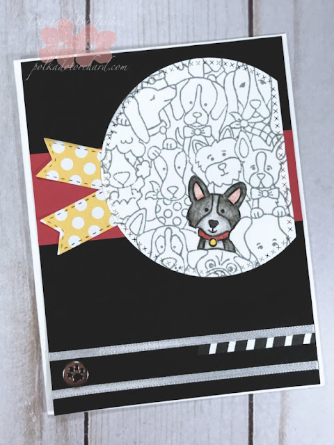 Polka Dot Orchard features Woof Pack by Newton's Nook Designs; #newtonsnook