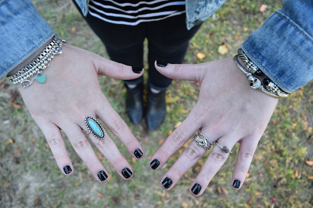 Sequins and Skulls: My Fall Uniform