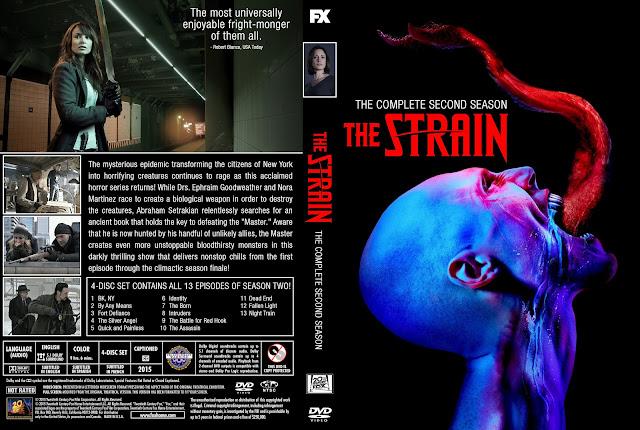 Capa DVD The Strain Segunda Temporada