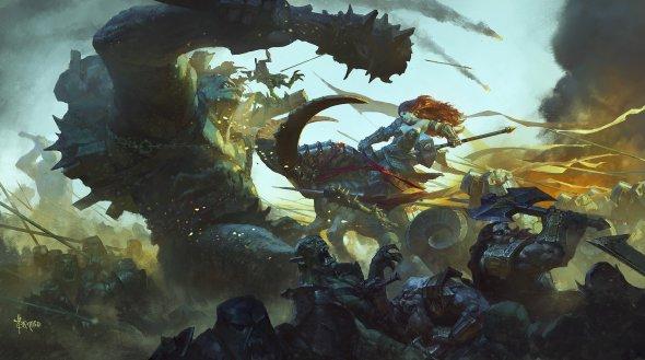 Bayard Wu deviantart ilustrações fantasia chinesa games