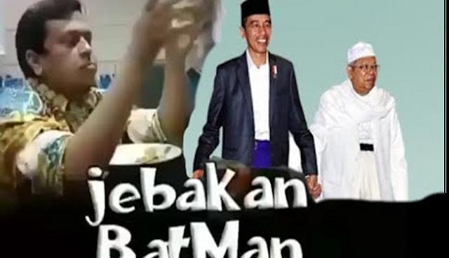 Video 'Jebakan Betmen'  Ust. Haikal Hassan soal Jokowi Pilih Ulama jadi Cawapres