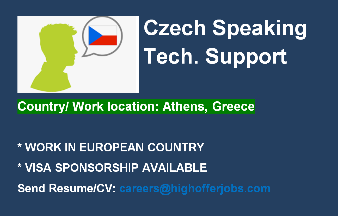 Technical Support Agent - German Speaking - Athens