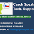 Czech Speaking Technical Support - Athens At least 6 months Exp