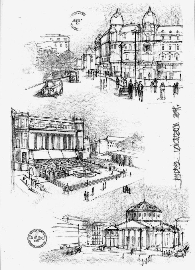 08-Bucharest-Interbelic-Sketches-Andrea-Voiculescu-Drawings-of-Historic-Architecture-www-designstack-co