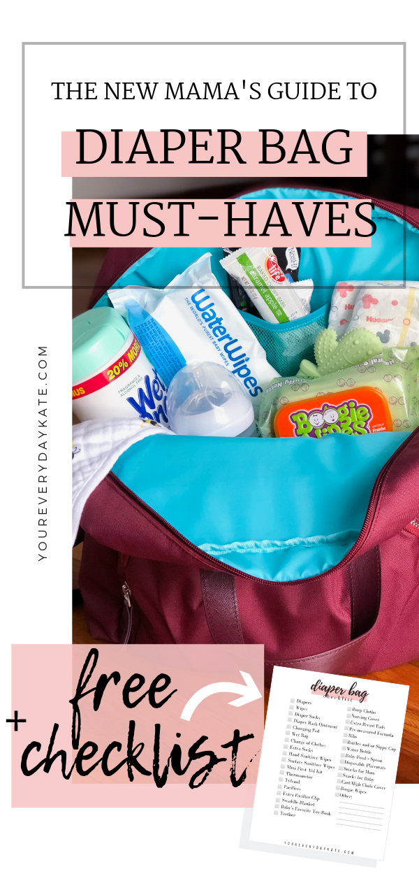 diaper bag essentials guide