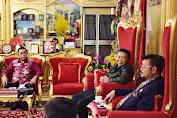 Bupati Dan Wabup Temui Gubernur, Bahas Agenda JK ke Selayar