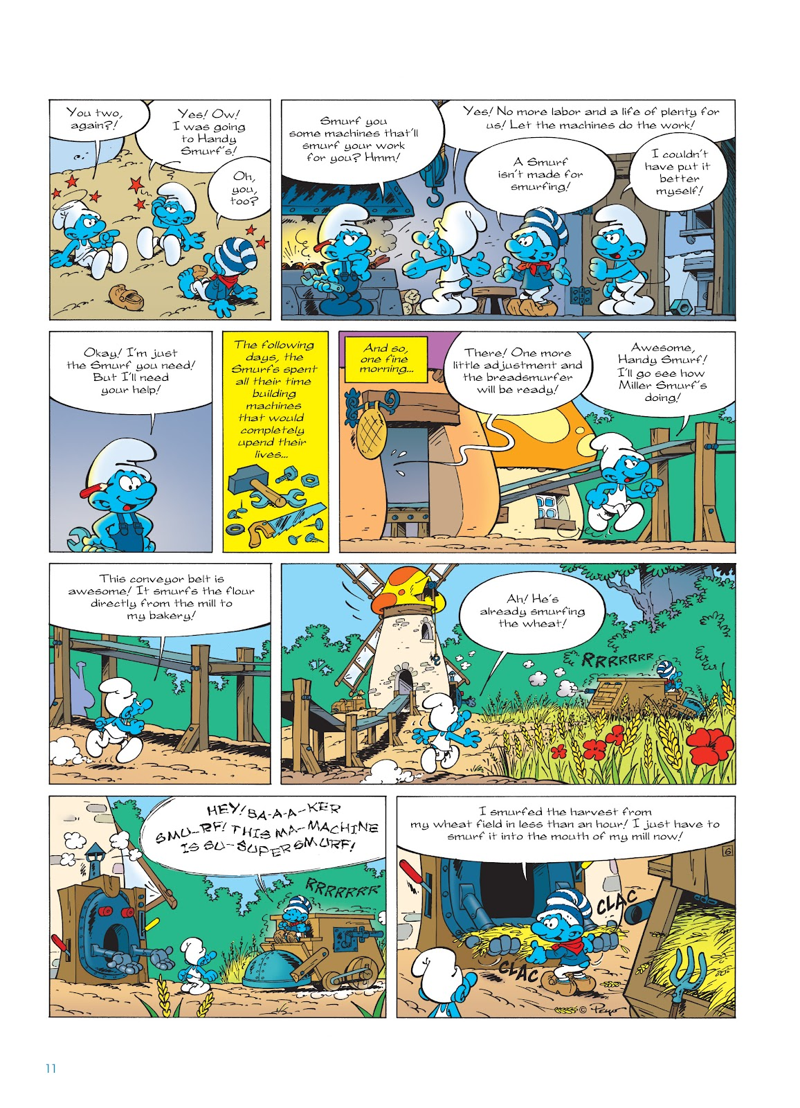 Read online The Smurfs comic -  Issue #23 - 11