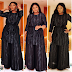 Omotola wows in black