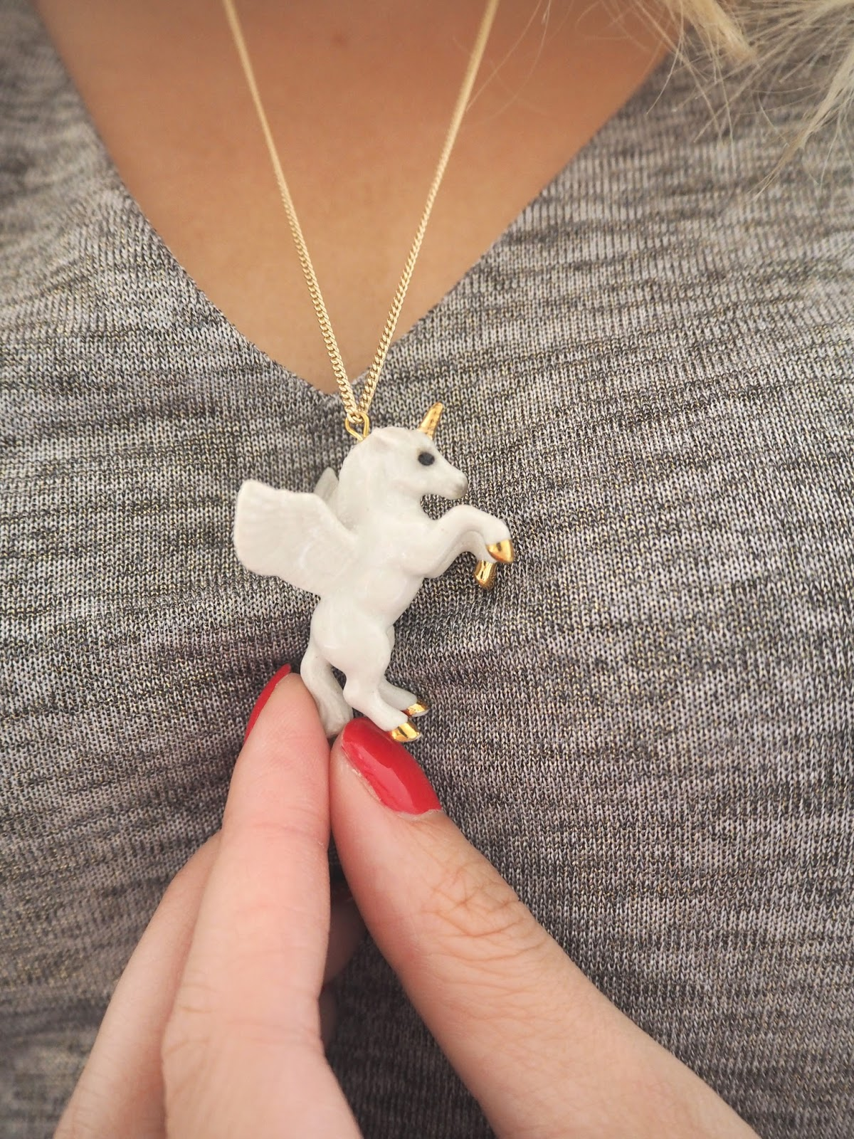 Unicorn Necklace, And Mary Necklace, Loves List: August, Katie Kirk Loves