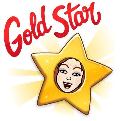 Gold Star Bitmoji