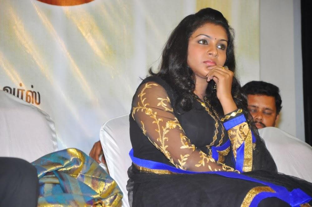 Saranya nag photos in salwar kameez at eera veyil movie audio launch
