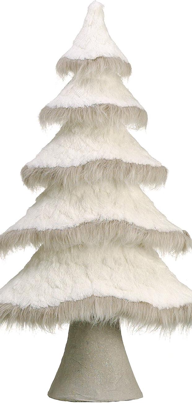 ALLSTATE Glitter Tree in White