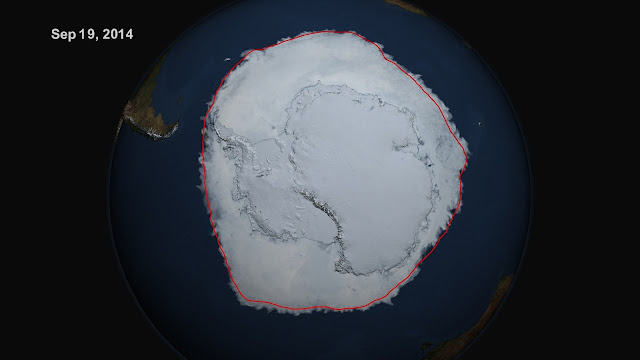 Expanding Antarctic sea ice linked to natural variability