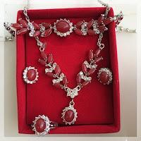 Set Perhiasan Batu Alexandri